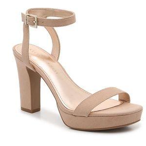 NWT Nude heels!